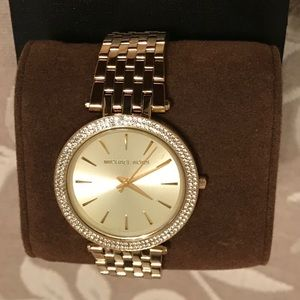 Micheal Kors Darci gold watch